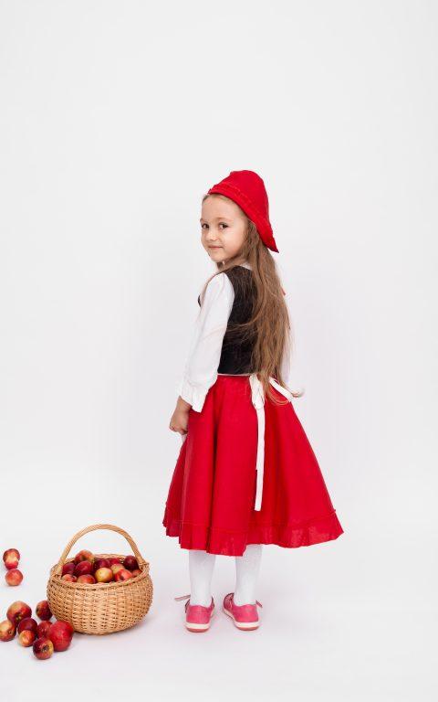 Karnavalinis kostiumas Raudonkepuraitės