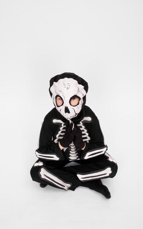 Karnavalinis kostiumas Skeletas