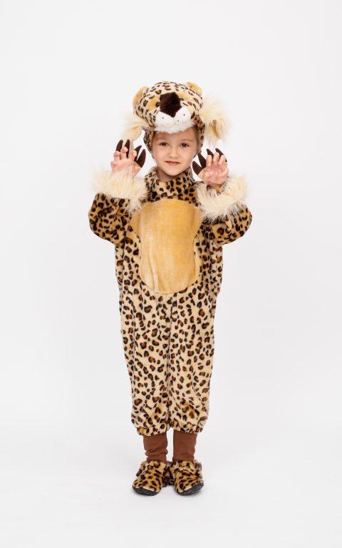 Karnavalinis kostiumas Leopardas