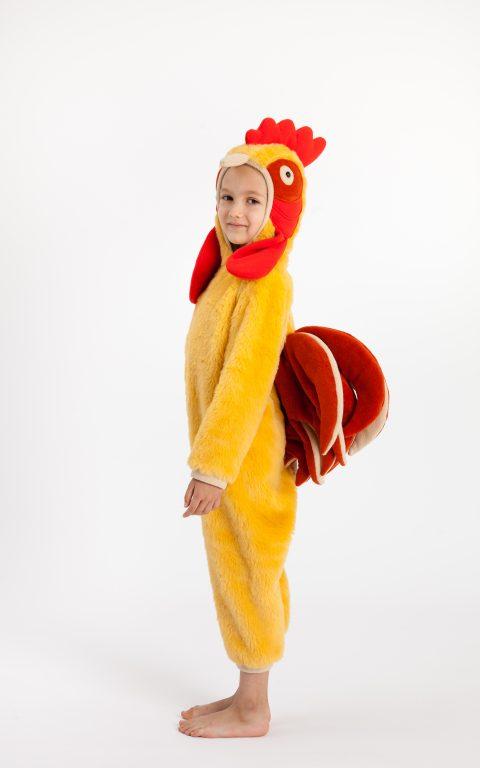 Dizlėja - karnavaliniai kostiumai vaikams. Gaidelio karnavalinis vaikiškas kostiumas